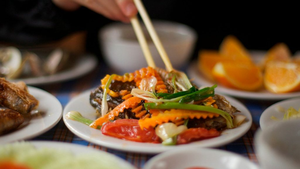 Vietnamese healthy food to lose weight
