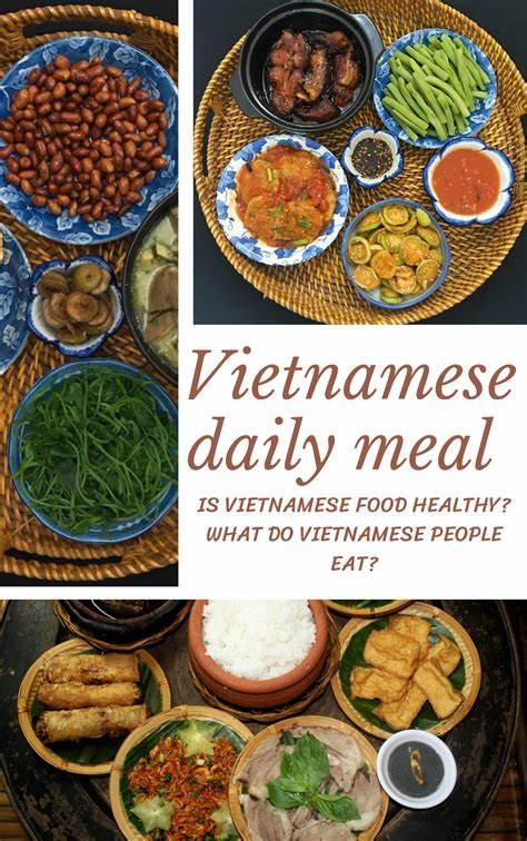 Vietnamese Daily Healthy Meals